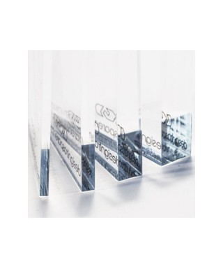 Clear transparent sheets