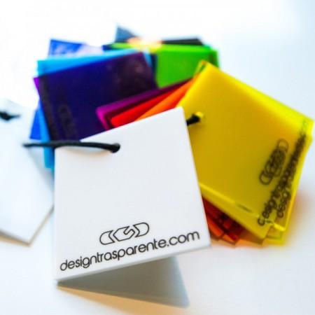 Lastre e pannelli in Plexiglass e perspex colorato diffusore su misura