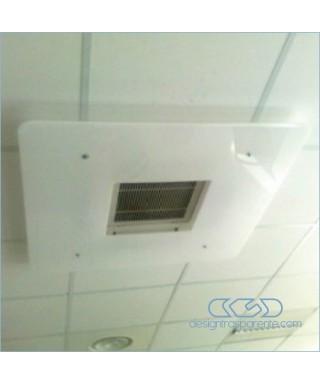 Deflector a techo de aire acondicionado