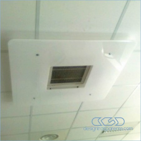 Acrylic air conditioning rooftop deflectors for internal units Ask for a tailor-made deflector.