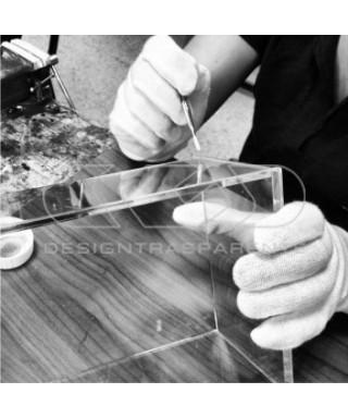 Kit para vitrinas - Paneles de metacrilato listos para ser pegados