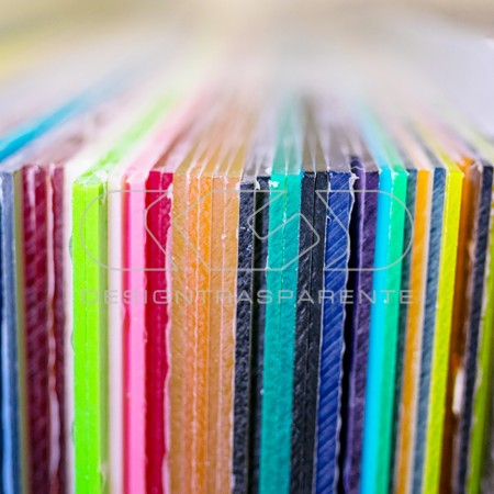 Acrylic transparent sheets, coloured acrylic sheets, mirror and fluorescent