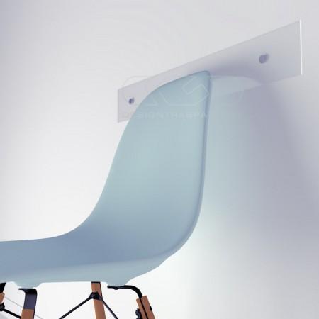 Fasce paracolpi proteggi muro, in plexiglass trasparente su misura.
