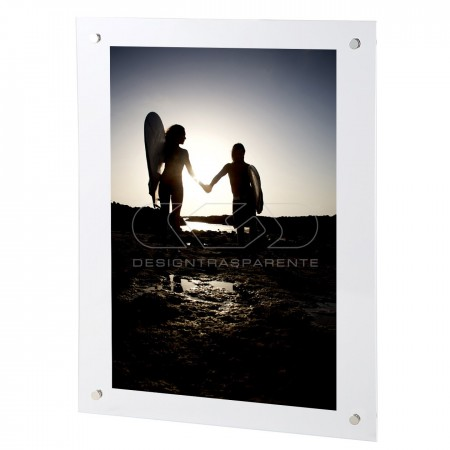 Wall Acrylic Frame with transparent hook