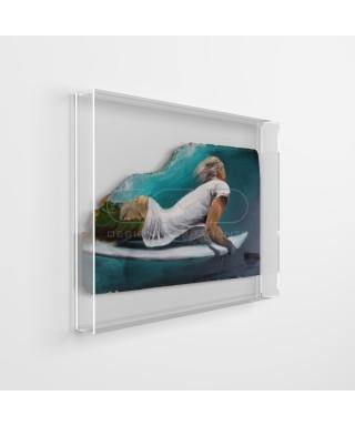 Acrylic box fames