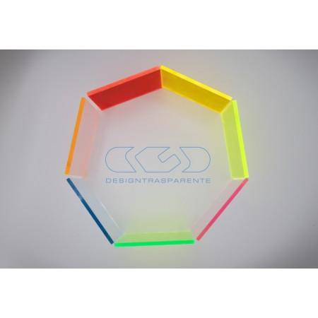 Lastre e pannelli in plexiglass colorato Fluorescente varie misure